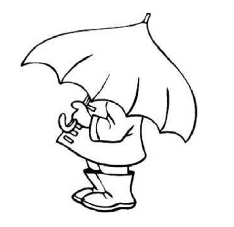 coloring page duck with umbrella best photos of duck with umbrella template preschool