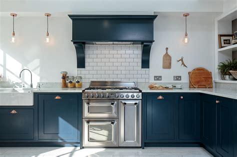 dark grey shaker cabinets maple gray blue shaker kitchen