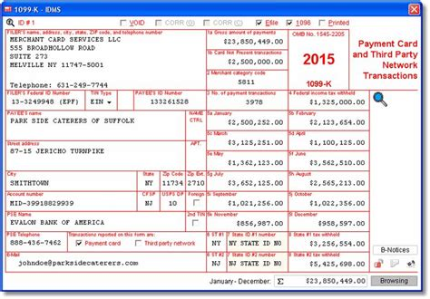 irs section 6050w account abilitys 1099 k user interface w 2 and 1099