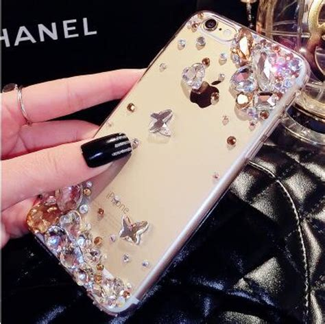Iphone 6plus 6splus Luxury Mirror Ring Soft Casing Cover popular iphone gems buy cheap iphone gems lots