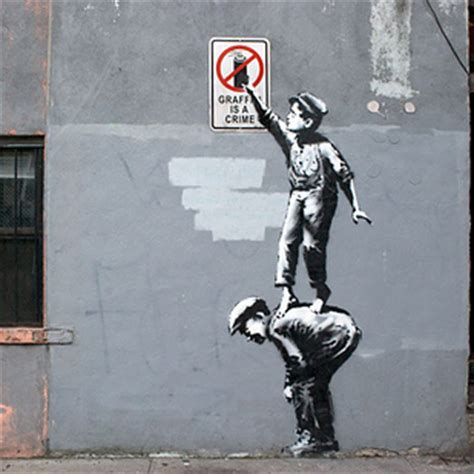 banksys graffiti animated