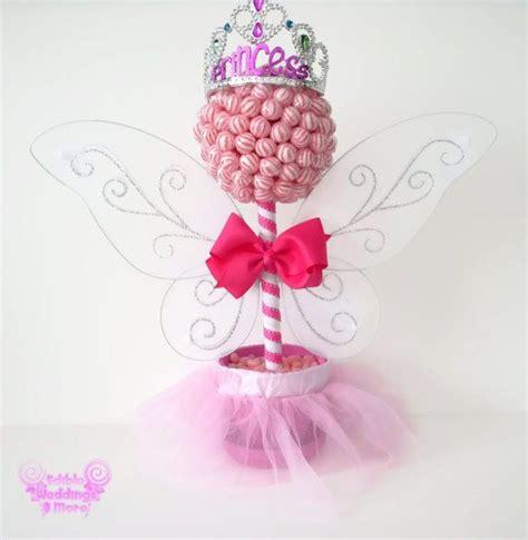 Lollipop Centerpieces For Baby Shower by Pink Lollipop Princess Topiary Centerpiece