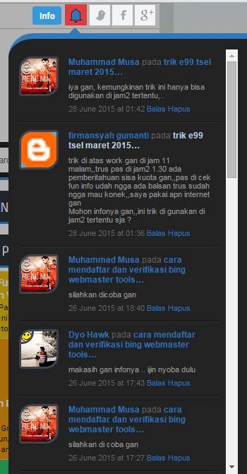 cara membuat html keren just emmie cara membuat notifikasi komentar keren di blog
