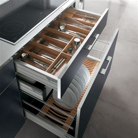 kitchen drawer design great use of pan drawers storage systems