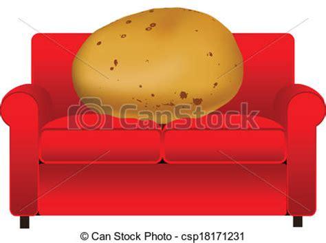 couch potato icon vectors of couch potato csp18171231 search clip art