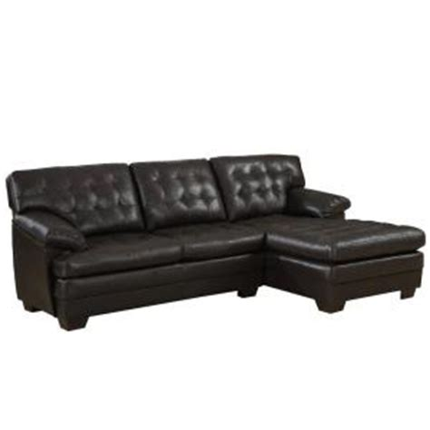 homesullivan whittier black tufted faux leather 2