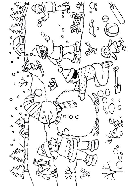 search results for free winter themed coloring pages
