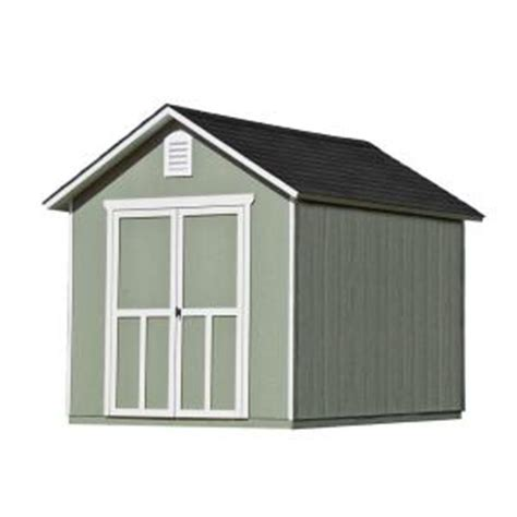 handy home products meridian  ft   ft wood storage