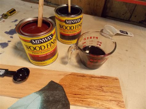 mixing floor stains custom mixing stains minwax