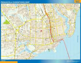 world wall maps store pensacola downtown map more than
