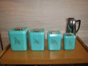 Kitchen Canister by Turquoise Kitchen Canister Set Gre Stuffgre Stuff