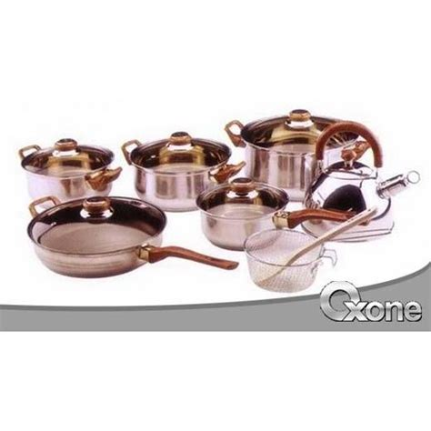 1 Set Oxone Eco Cookware panci set oxone eco ox 933 cookware set alat masak