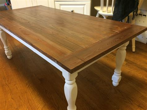 turned leg coffee table white reclaimed turned leg coffee table diy projects
