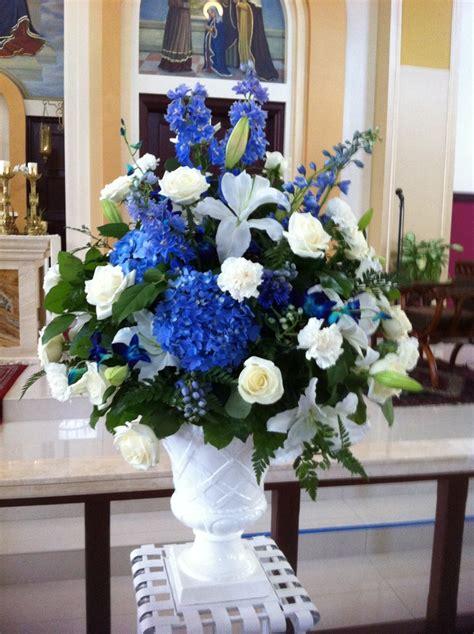 Blue Wedding Flower Ideas by 650 Best Blue Wedding Flowers Images On