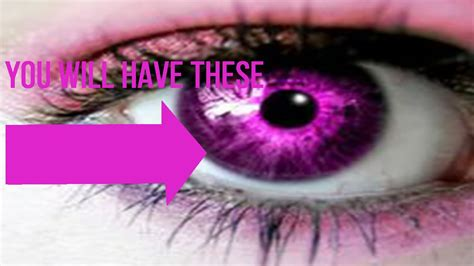 pink eye color get beautiful pink iris after this