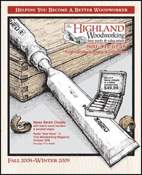 highland woodworker highland woodworking wood news no 41 january 2009