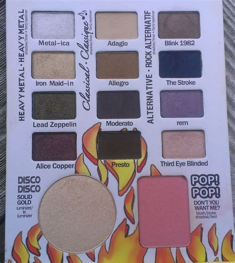 The Balm Balm Jovi Palette there s always time for lipstick the balm balm jovi rockstar palette