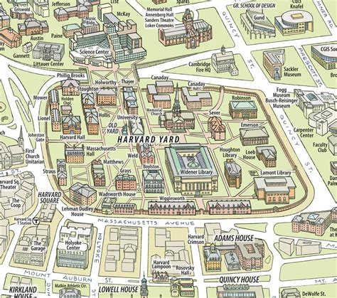 harvard map harvard map map of harvard united states of america
