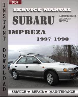online auto repair manual 1998 subaru impreza free book repair manuals subaru impreza 1997 1998 free download pdf repair service manual pdf