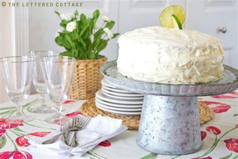 key lime cottage key lime cake the lettered cottage