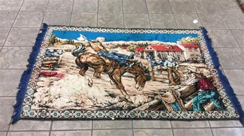 western themed rugs western themed rug approximately 6ft wide by 4ft