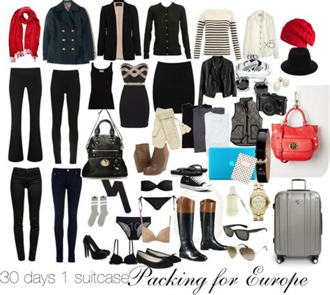 Europe Travel Wardrobe by One Suitcase 14 Pieces 30
