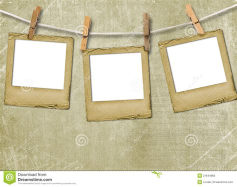 How To Make A Paper Slide - grunge slides on the paper background royalty free