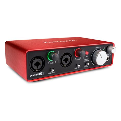 Focusrite 2i2 2nd Audio Interface focusrite 2i2 2nd audio interfaces studio gear studiospares