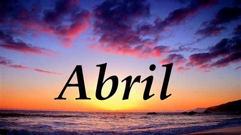 imagenes satelitales q significa abril significado y origen del nombre youtube