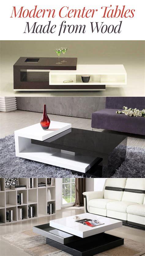 modern center tables   wood home design lover