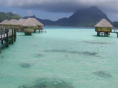 bora bora overwater bungalow all inclusive bora bora pearl resort spa polynesia