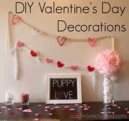 Valentine S Day Decorations by Diy Valentine S Day Decorations