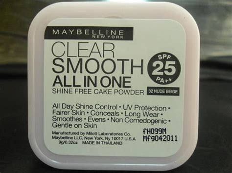 Refill Maybelline Clear Smooth All In One late bloomed maybelline clear smooth all in one shine