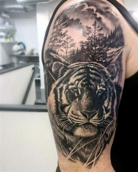tiger tattoo for men tiger arm designs