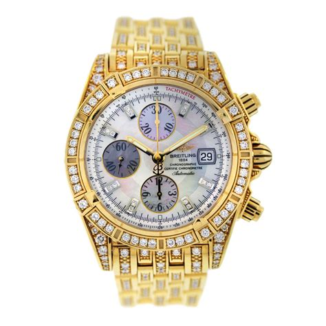 breitling chronomat evolution k13356aj all 18k