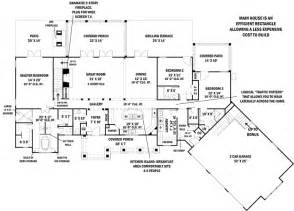 First Floor Plan First Floor Plan Of Ranch House Plan 98267 Home