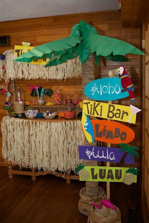 Birthday Decorations by 25 Unique Hawaiian Decorations Ideas On