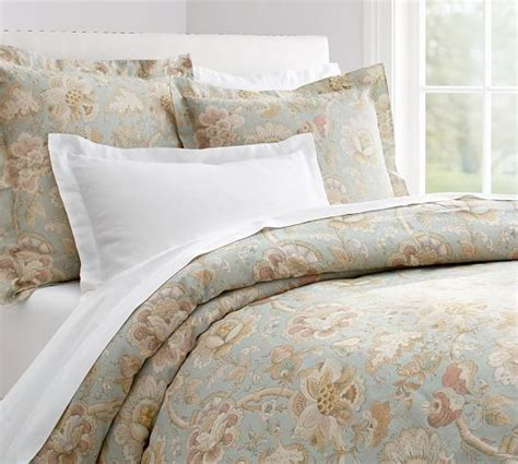 Duvet Covers Pottery Barn floral duvet cover sham pottery barn