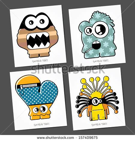 Stiker Mobil Sticker Mobil Sing Universal Code0292 icons stock vector 67258225