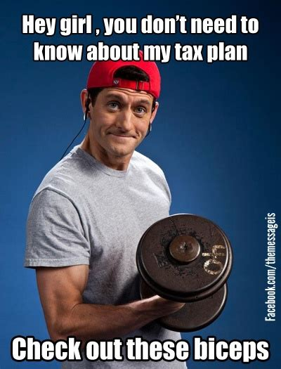 Paul Ryan Workout Meme - http www bpax tv 2012 10 the best paul ryan bicep memes