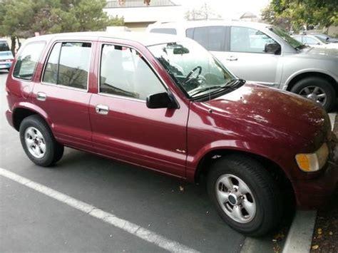 2001 Kia Sportage Convertible Buy Used 2001 Kia Sportage Base Convertible 2 Door 2 0l In