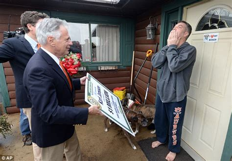 Call Publishers Clearing House - prize patrol gifts wisconsin electrician with 1m won from publishers clearing house