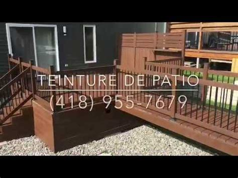 teindre un deck en bois trait 233 teinture olympic maximum