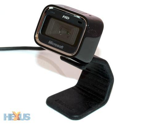 microsoft hd 5000 web review microsoft lifecam hd 5000 cameras hexus net