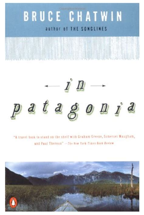 through the of patagonia books for is a journey through a wilderness by bruce