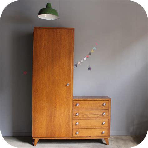 armoire vintage mobilier vintage armoire annees 50 r 233 tro atelier du petit parc