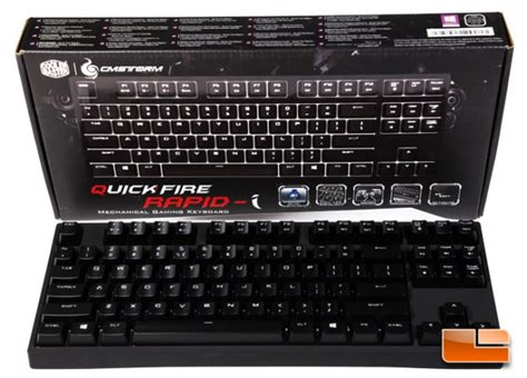 cm storm quickfire rapid  mechanical gaming keyboard