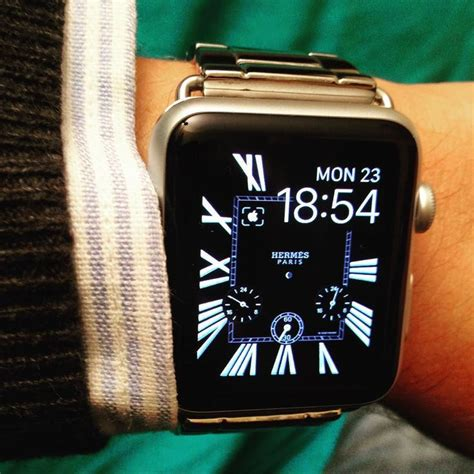 download wallpaper for apple watch herm 232 s classic style face new apple watch custom face