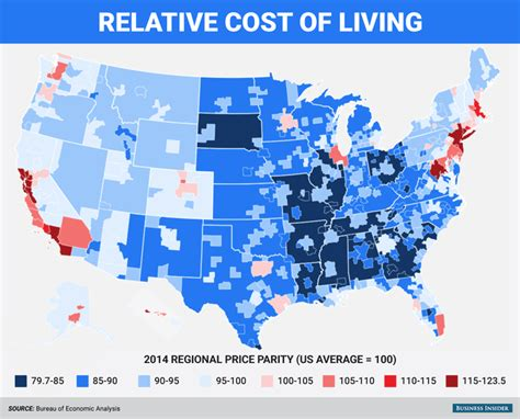 cheapest cost of living cities population education and the changing american landscape