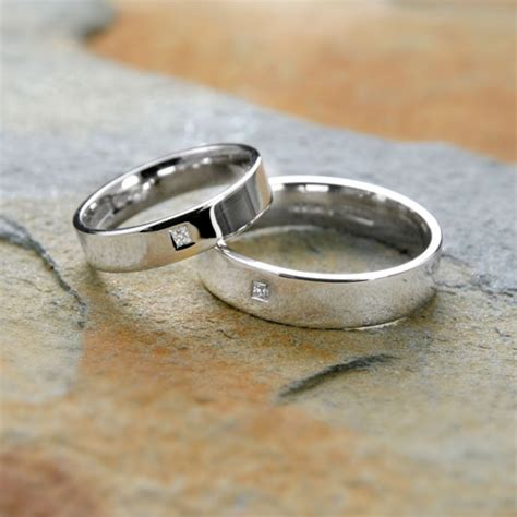 cornish tin wedding rings